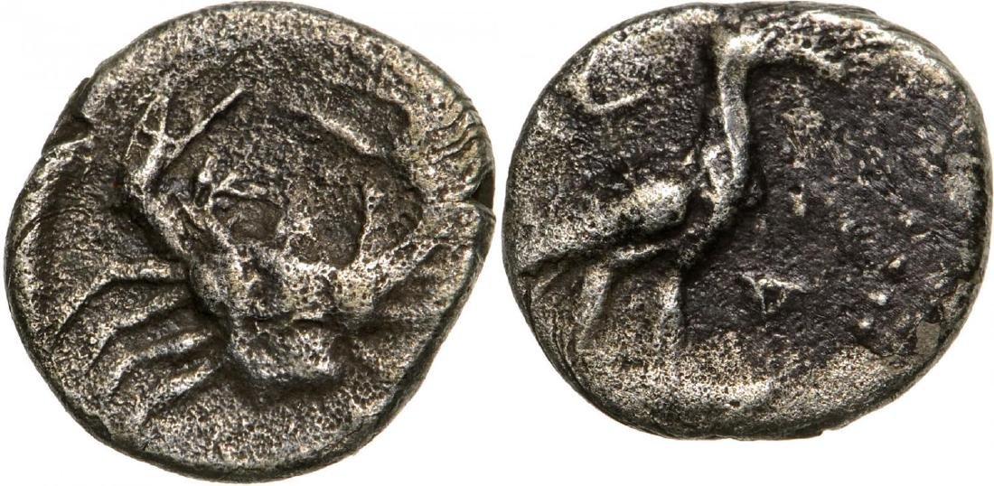 Akragas, AR Litra (9 mm, 0.5 g), 470-425 BC