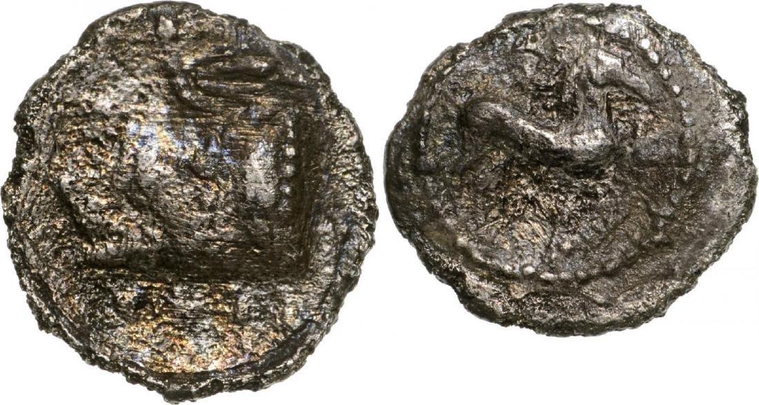 Gela, AR Litra (10 mm, 0,.7 g), 465-450 BC