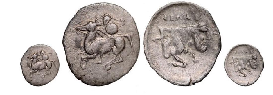 Gela AR Litra (0,48 g), 430-425 BC