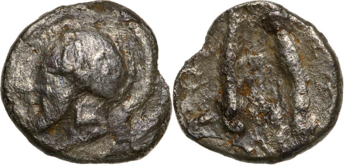 Himera, AR Litra (8 mm, 0.56 g), 479-409 BC