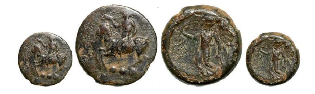 Himera, AE Hexas (2,79 g), 420 BC