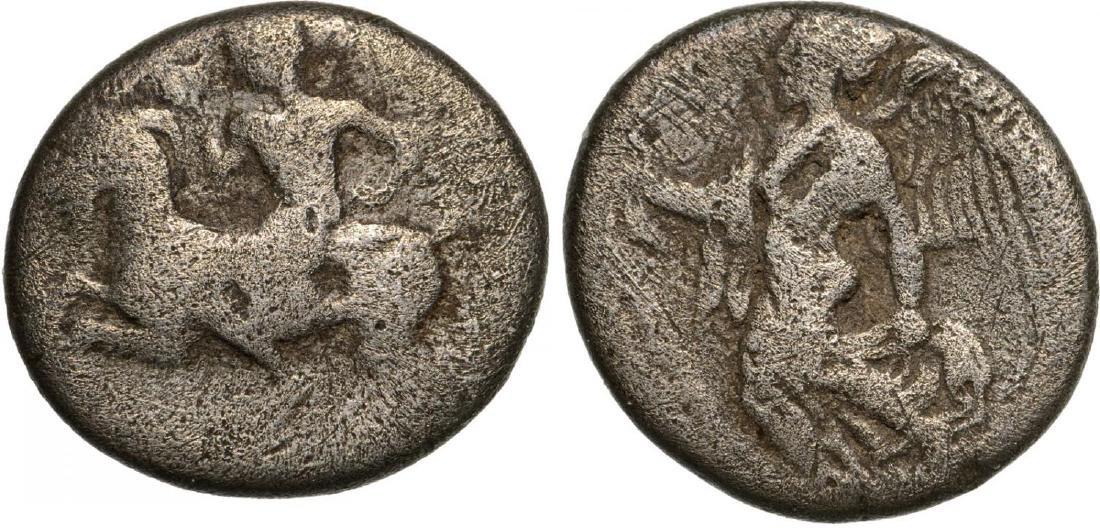 Himera, AR Hemidrachm (13 mm, 2.8 g), 450-420 BC