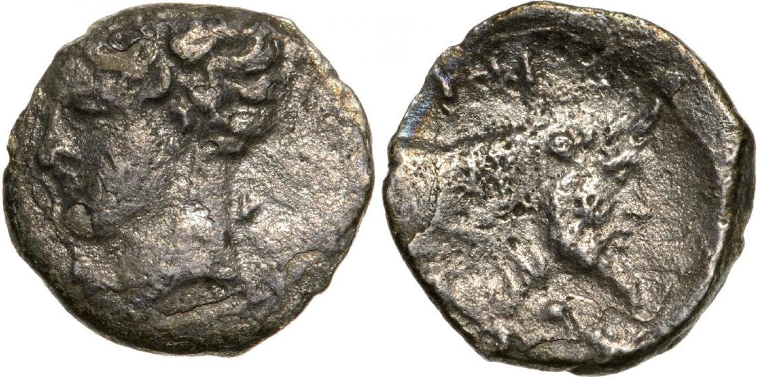 Panormos, AR Litra (10 mm, 0.49 g), 409-380 BC