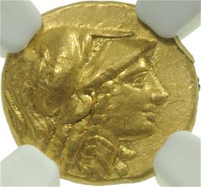 Alexander III (336-323 B.C.), AV Quarter Stater, Circa