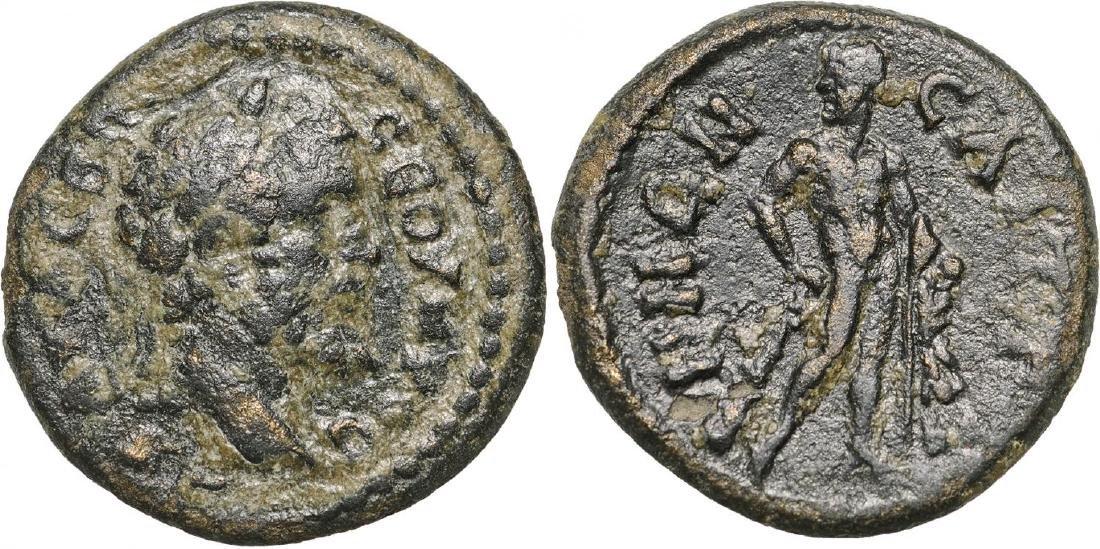 Saitta, AE18 (3.74 g), Roman Provincial Coinage,