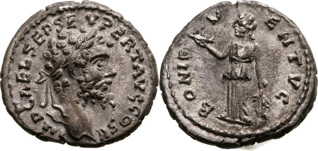 Septimius Severus (193-211) Denar, 194 - 195 A.D., Mint