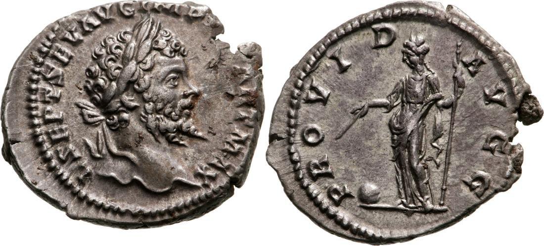 Septimius Severus (193-211) Denar, Rome 198/200 A.D.,