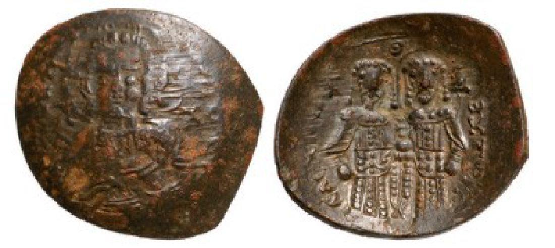 Alexius III (1195-1203 AD), Billon Aspron Trachy (2.3