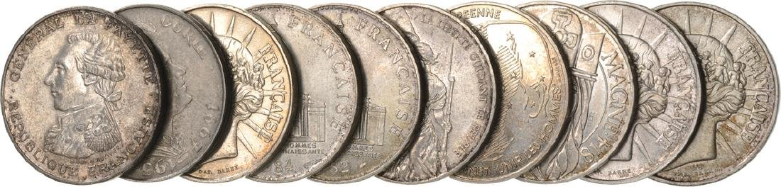 Lot of 10 Silver Coins