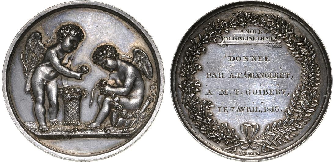 Mariage Medal 1815