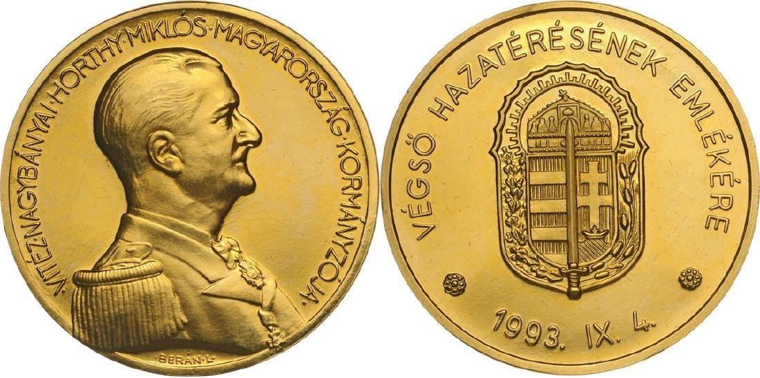 Medal 1993, Bronze gilt (40 mm, 27.3 g)