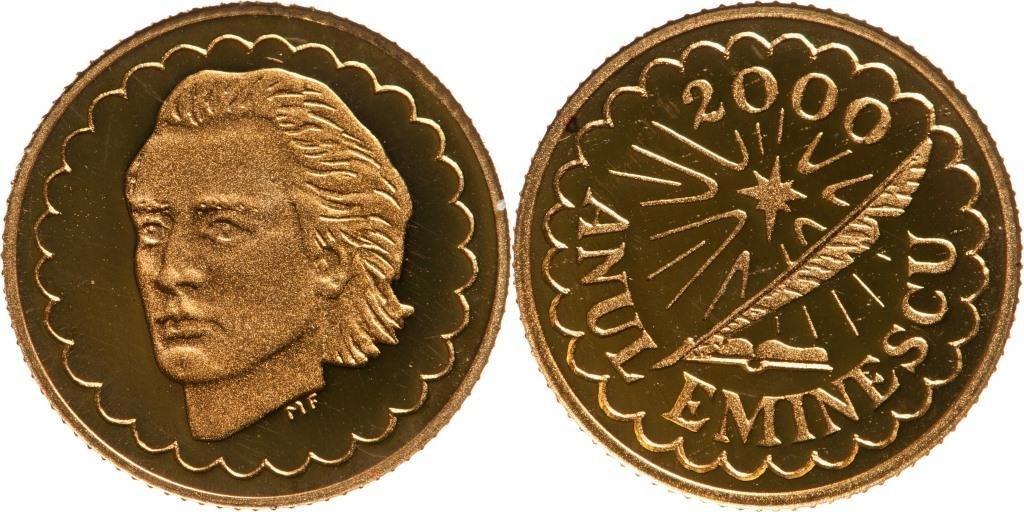 Commemorative Medal Mihai Eminescu, 2000