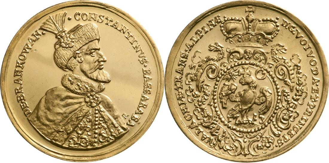 2006 Replica of the Constantin Brancoveanu Medal-Coin
