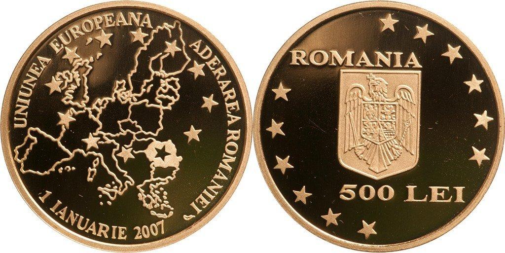 500 Lei 2007, Accession of Romania to the European