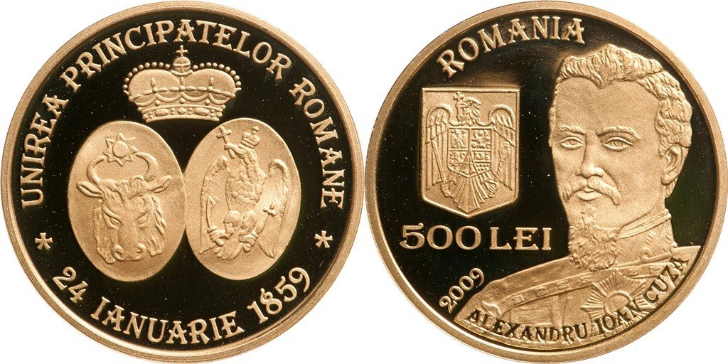 500 Lei 2009, 150 Years since the Union of the Romanian