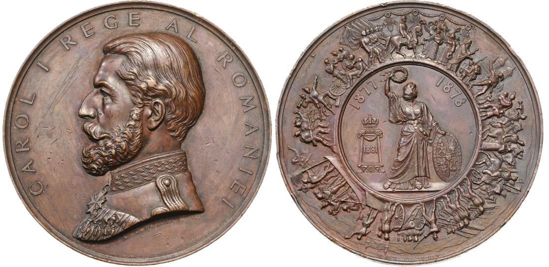 Carol I-1877-1878 Independence War, 1881