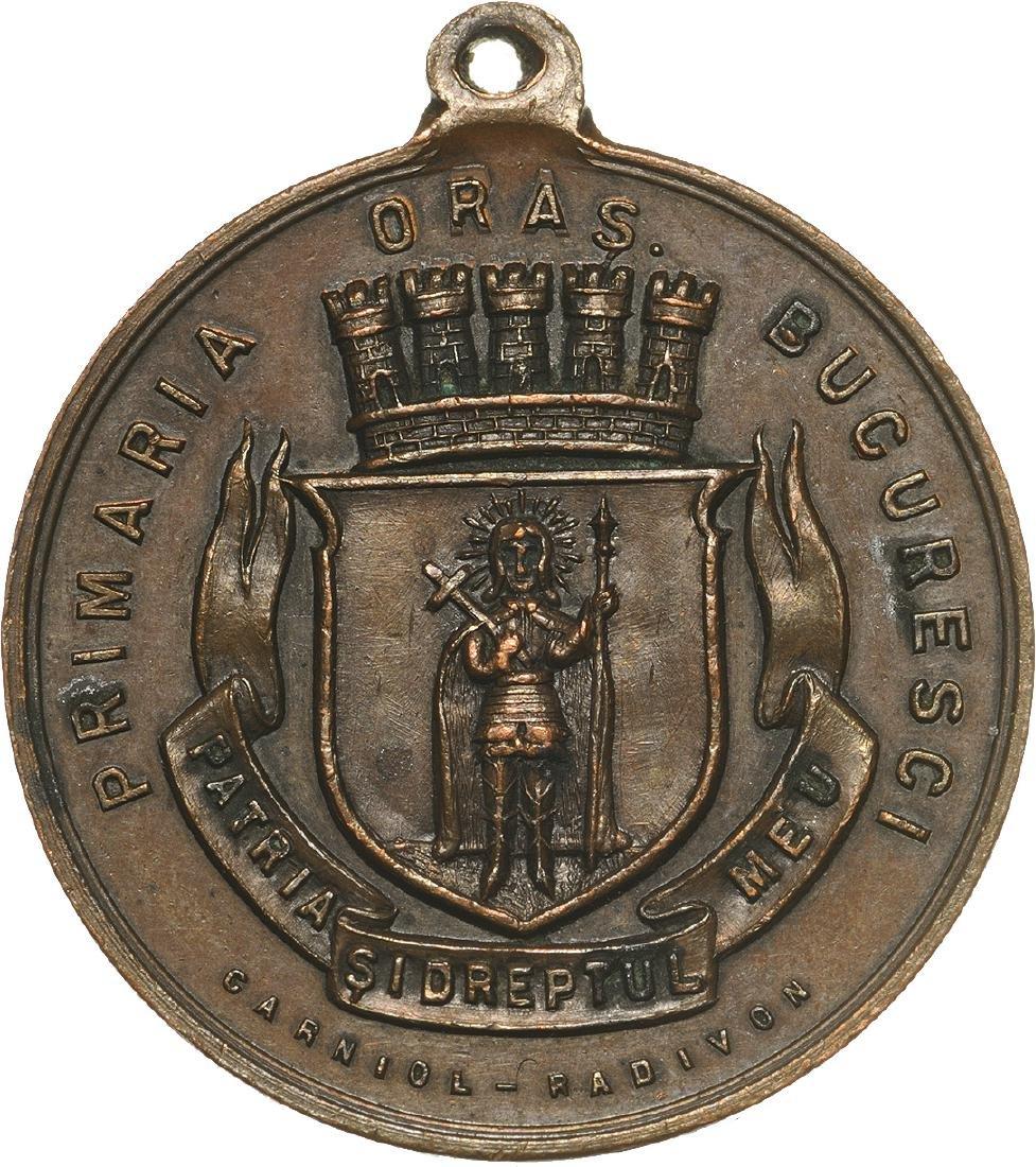 Carol I ' School Prize medal for good behavior in
