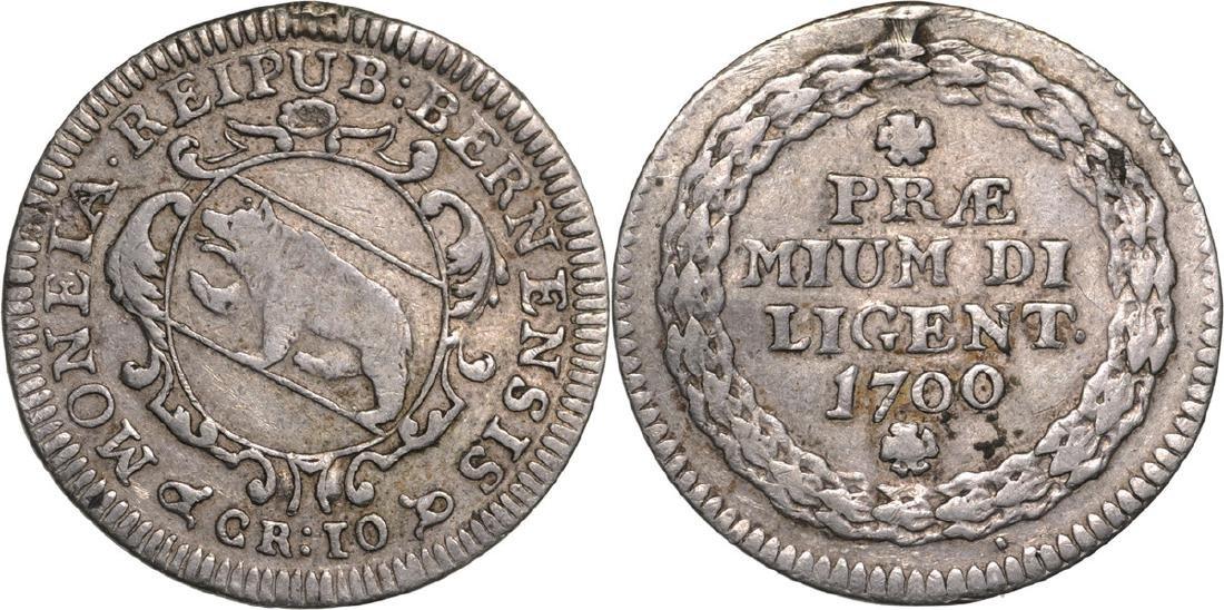 Berne. School Prize medal 1700