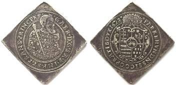 Gabriel Bethlen (1613-1629), Taler Klippe 1628 CC