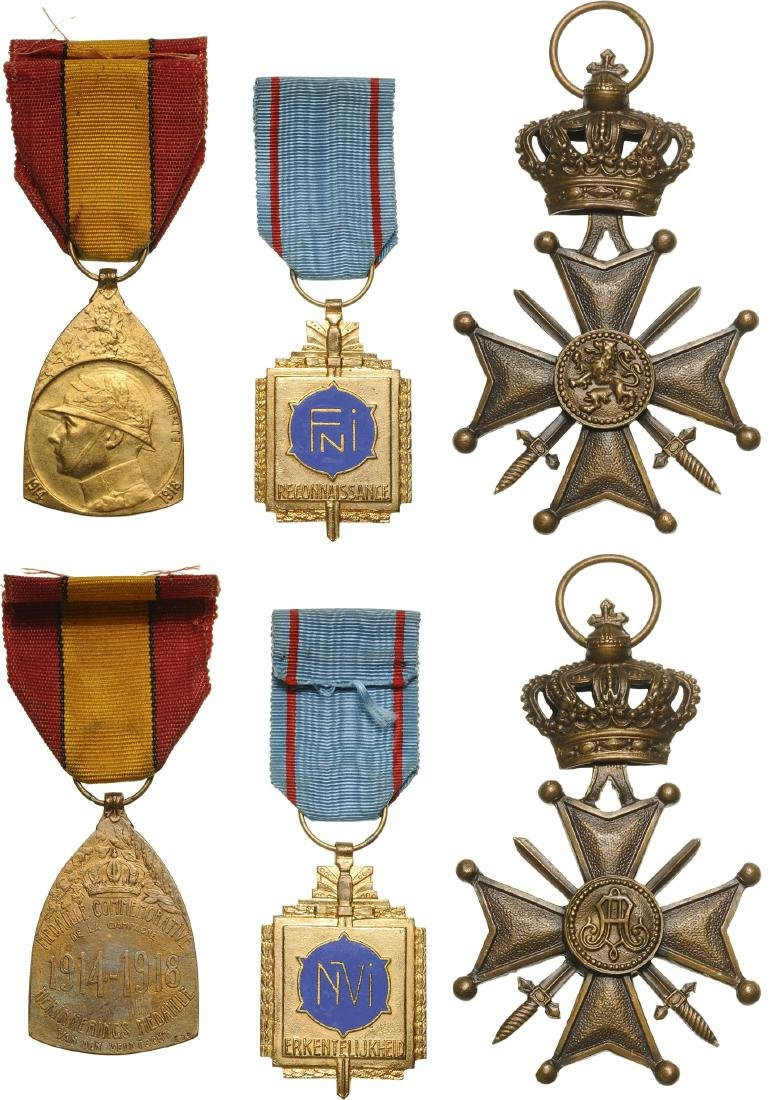 Group of 3 Decorations