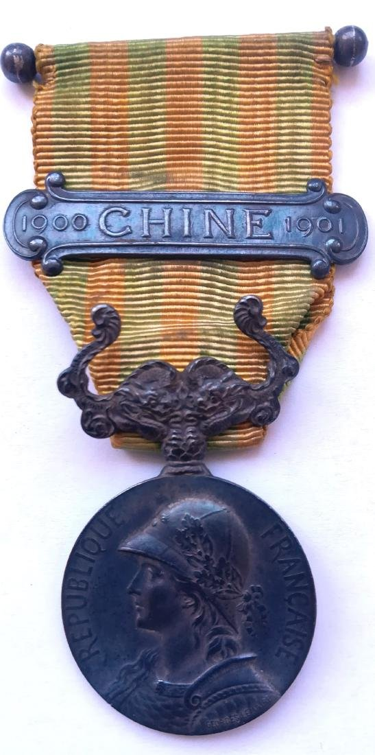 China Boxer Rebellion Campaign Medal, instituted in