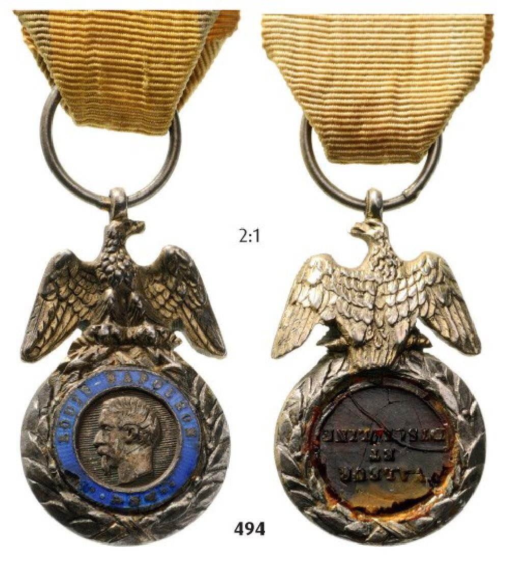 Military Medal, Napoleon III, HalfSize, 2nd Type