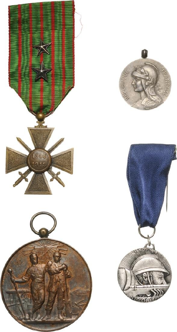Lot of 4 Medals