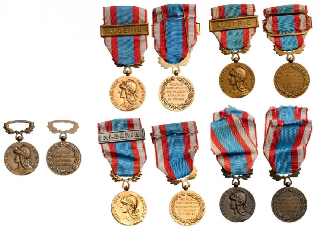 Lot of 5 Commemorative Medals for North Africa