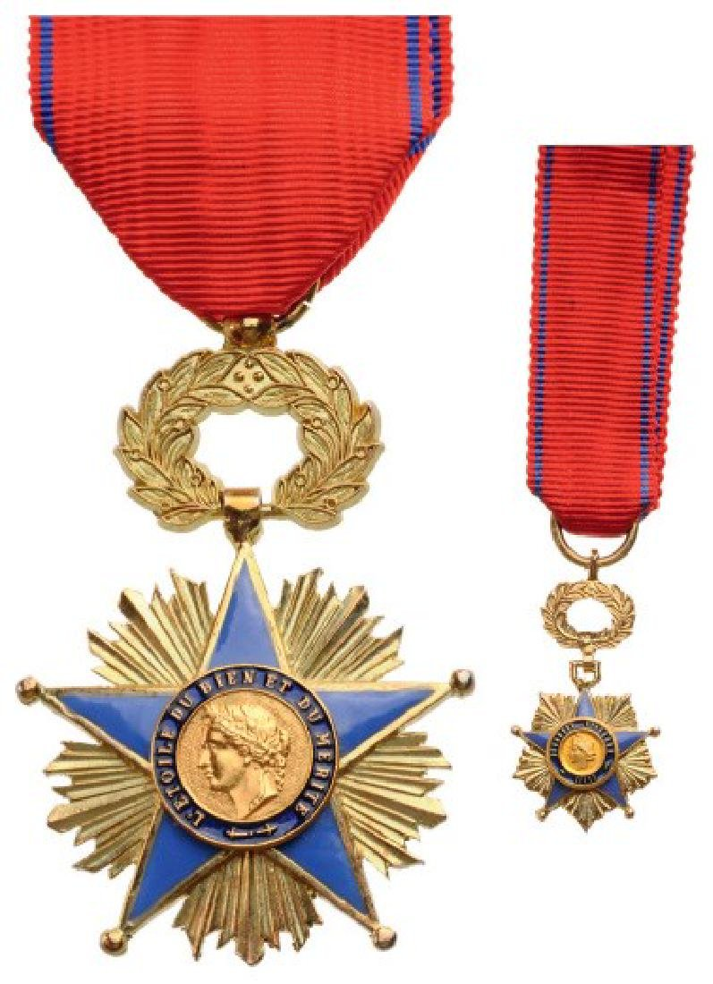 ORDER OF THE STAR OF GOOD AND MERIT