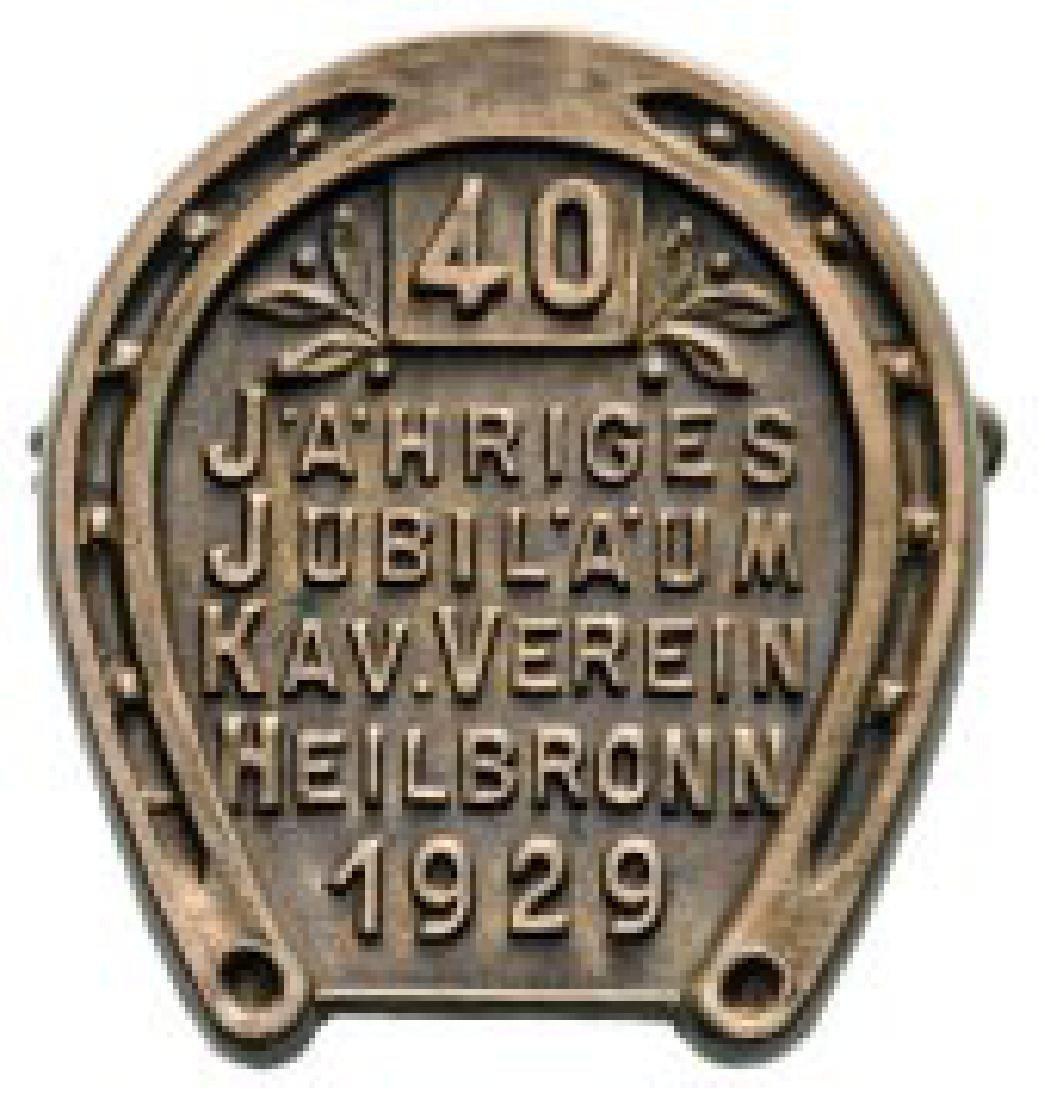 40 Year Jubilee of Heilbronn Cavalry Association 1929