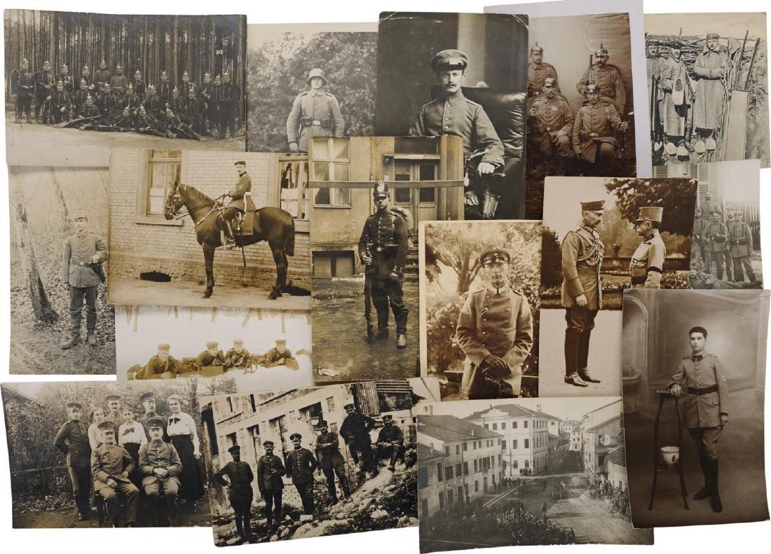 Lot of 27 First World War Postcards and Photos