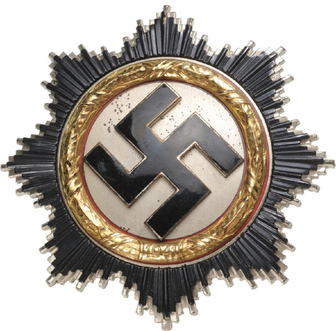 ORDER OF THE GERMAN CROSS in Gold