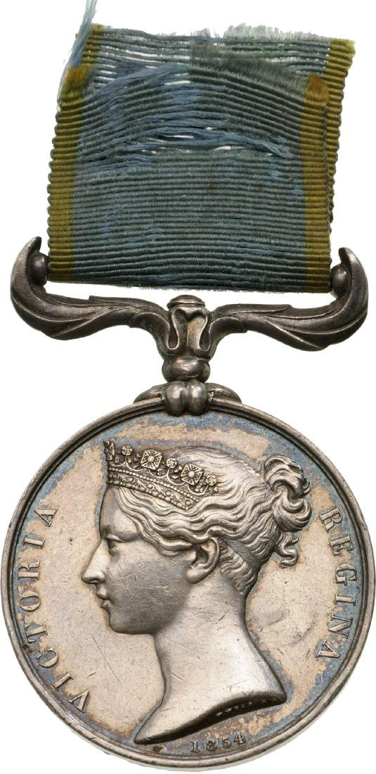 Crimea Medal, instituted in 1854
