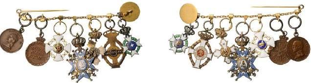 Bar of 7 Miniatures