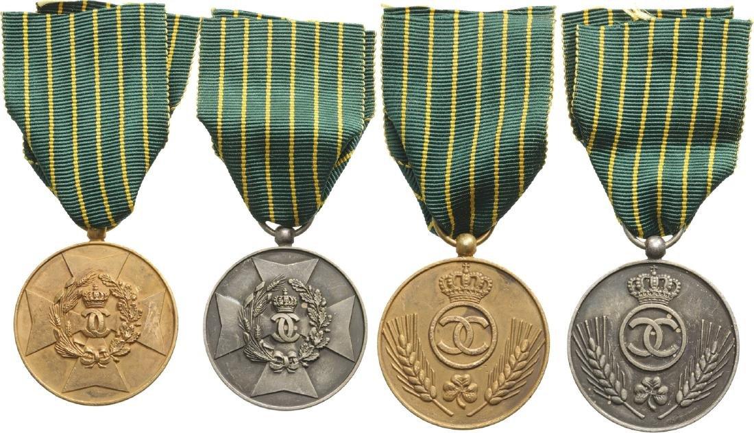 Medal of Agricultural Merit, 1st Model, Set 1-2