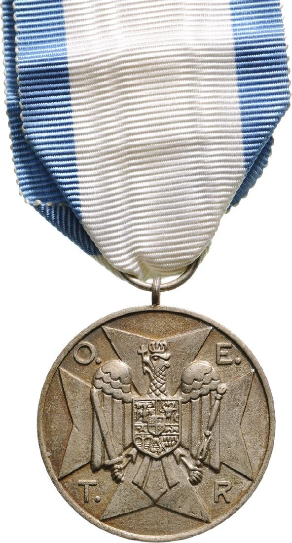 HOME GUARD MEDAL, 2nd Class, instituted in 1934