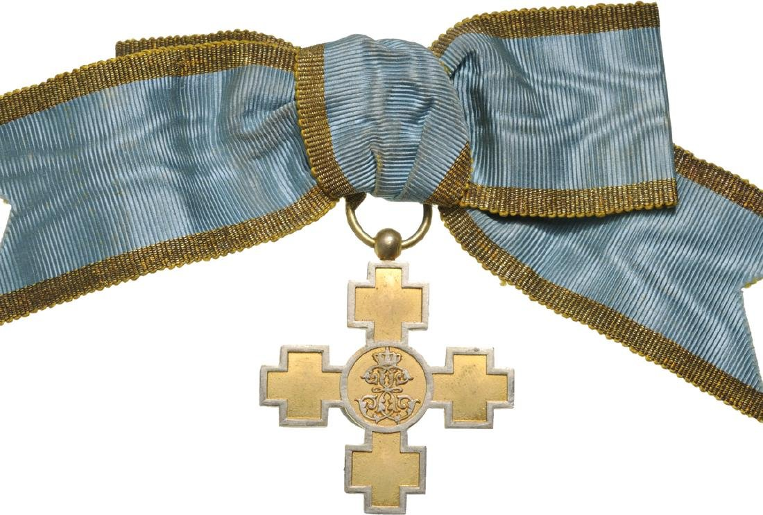 """Elisabeth """"Alinare si Mangaiere"""" Cross, Instituted in"""