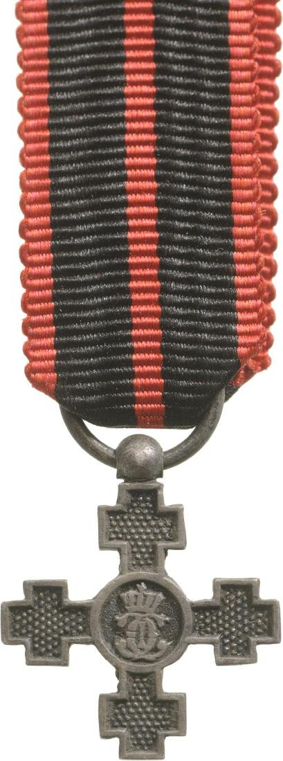 Medal Crossing of the Danube Miniature, instituted on