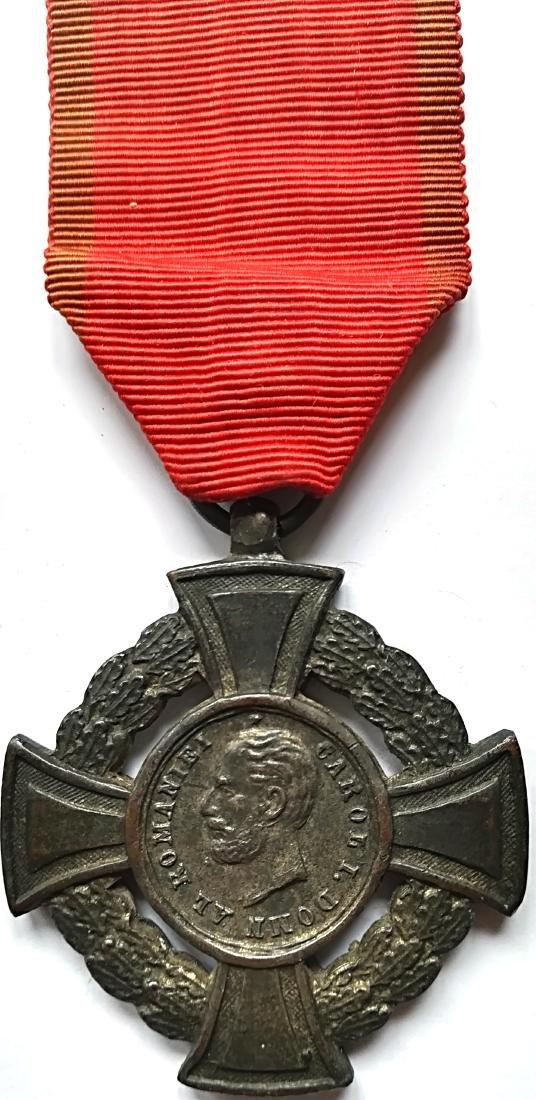 The Military Virtue Cross, 2nd Class, 1880