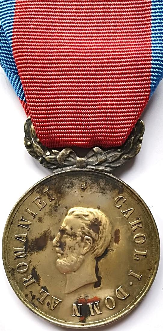 Military Virtue Medal, 1st Class, 1872