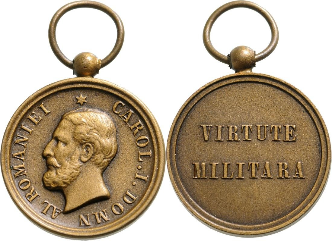 The Military Virtue Medal, Half-Size, 3rd Class, 1872