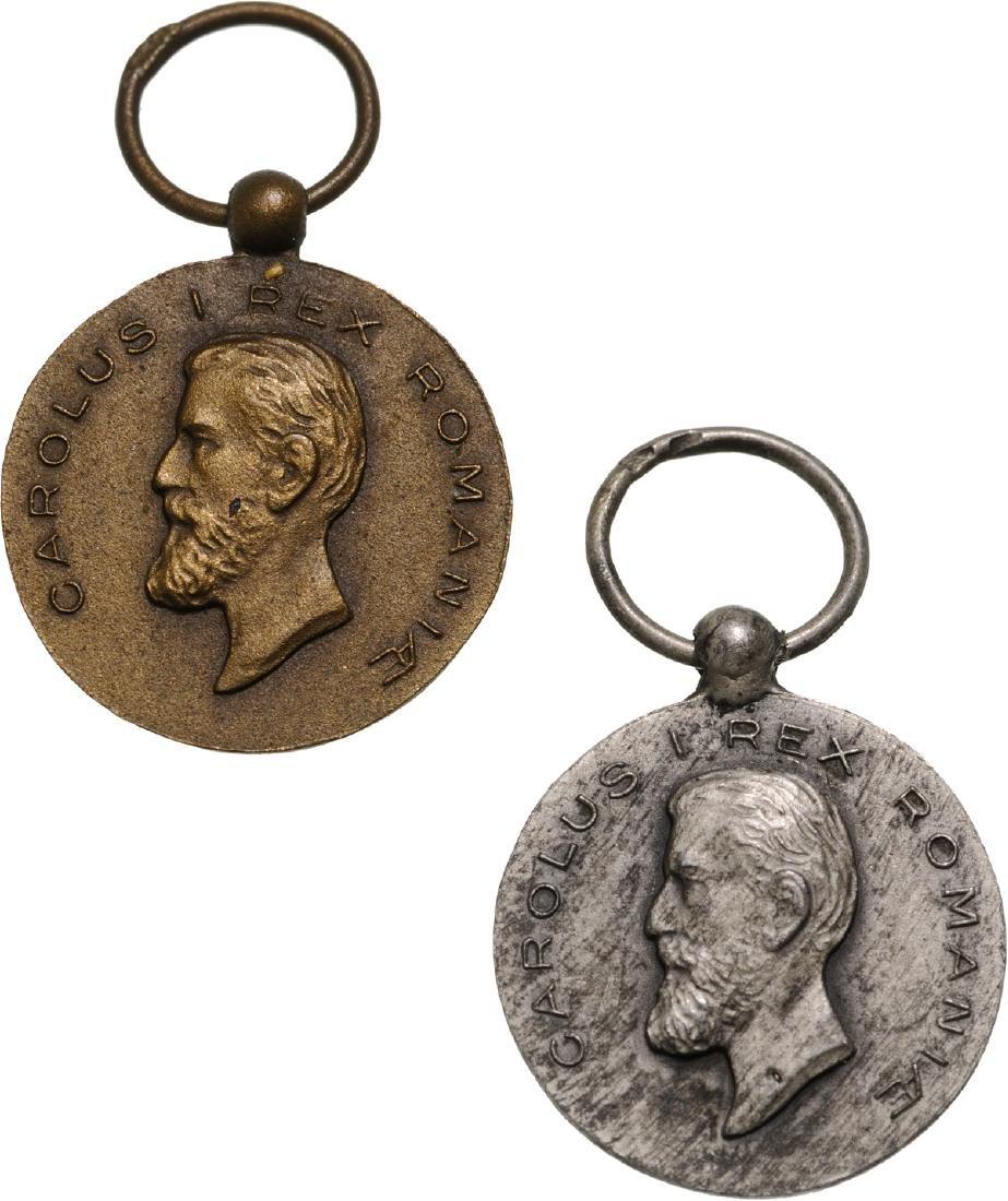 Medal of Faithfull Service, 1st Type, Civil, Set 2nd