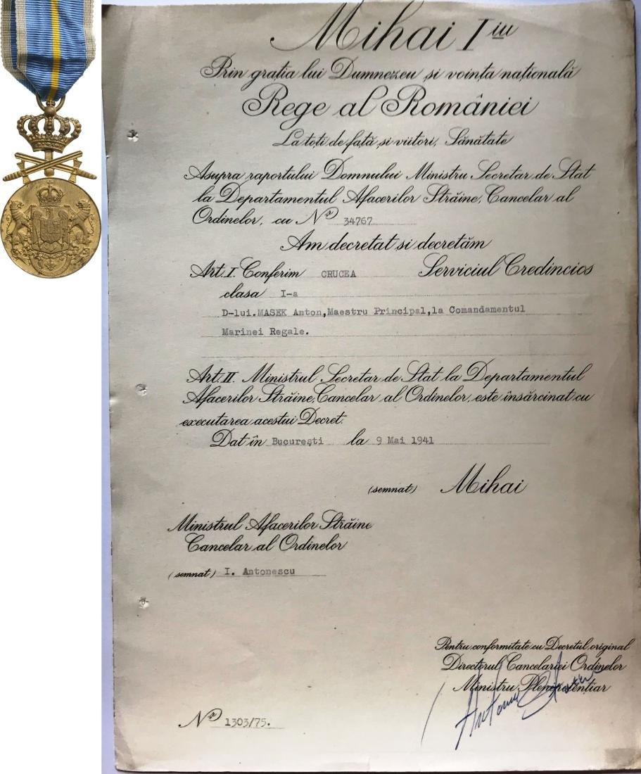 Medal of Faithfull Service, 2nd Type, Civil, 1st Class,