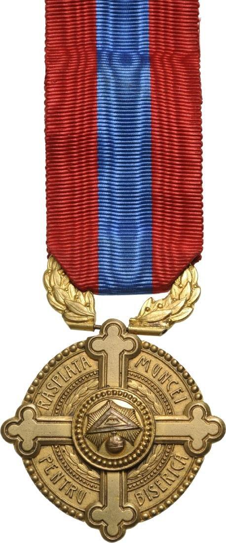 Medal of Merit of Work for the Church, 2nd Model