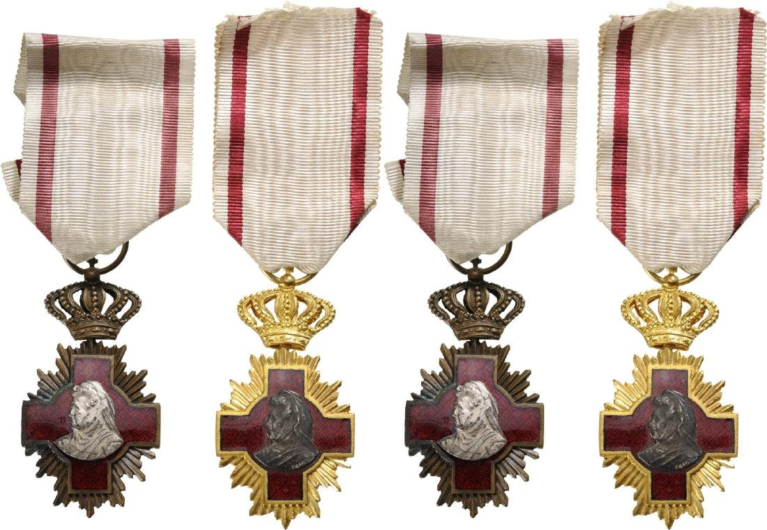 "Sanitary Merit Medal, Set 1-3 Classes, signed ""Resch"","