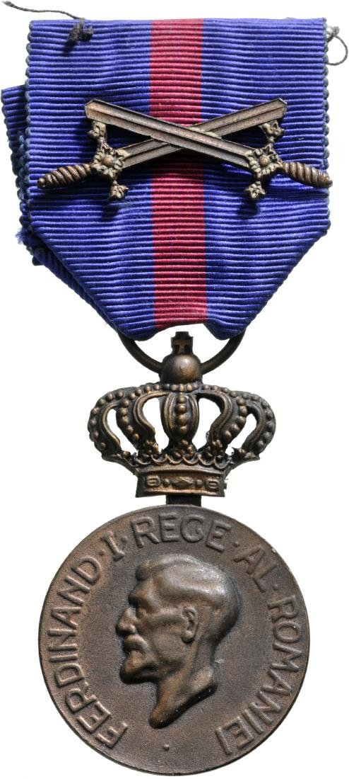 Medal of Ferdinand I, instituted on 10th of May 1929 by