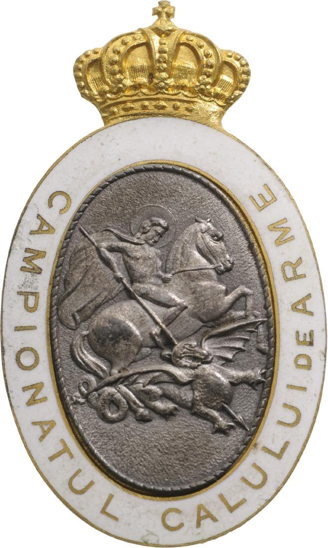 War Horse Championship Badge, after 1931