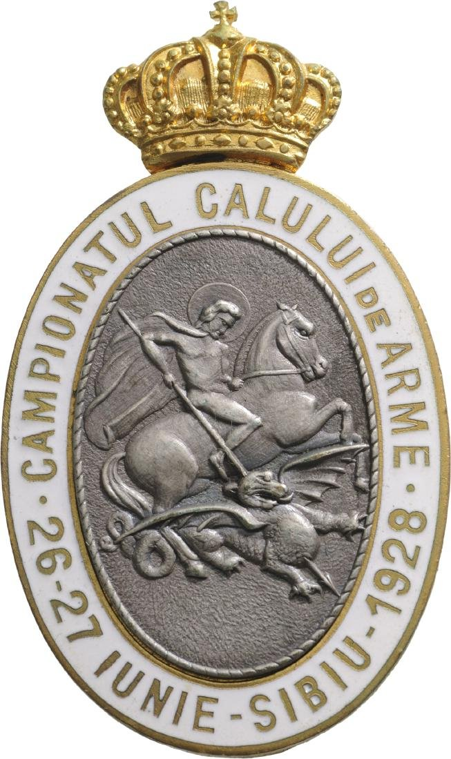 War Horse Championship Badge, Sibiu 1929