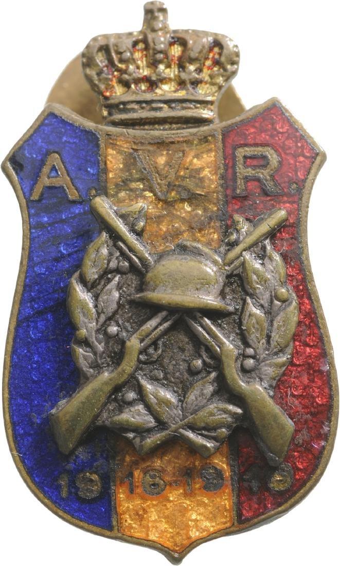 Badge of the War Volunteers Association, Miniature,