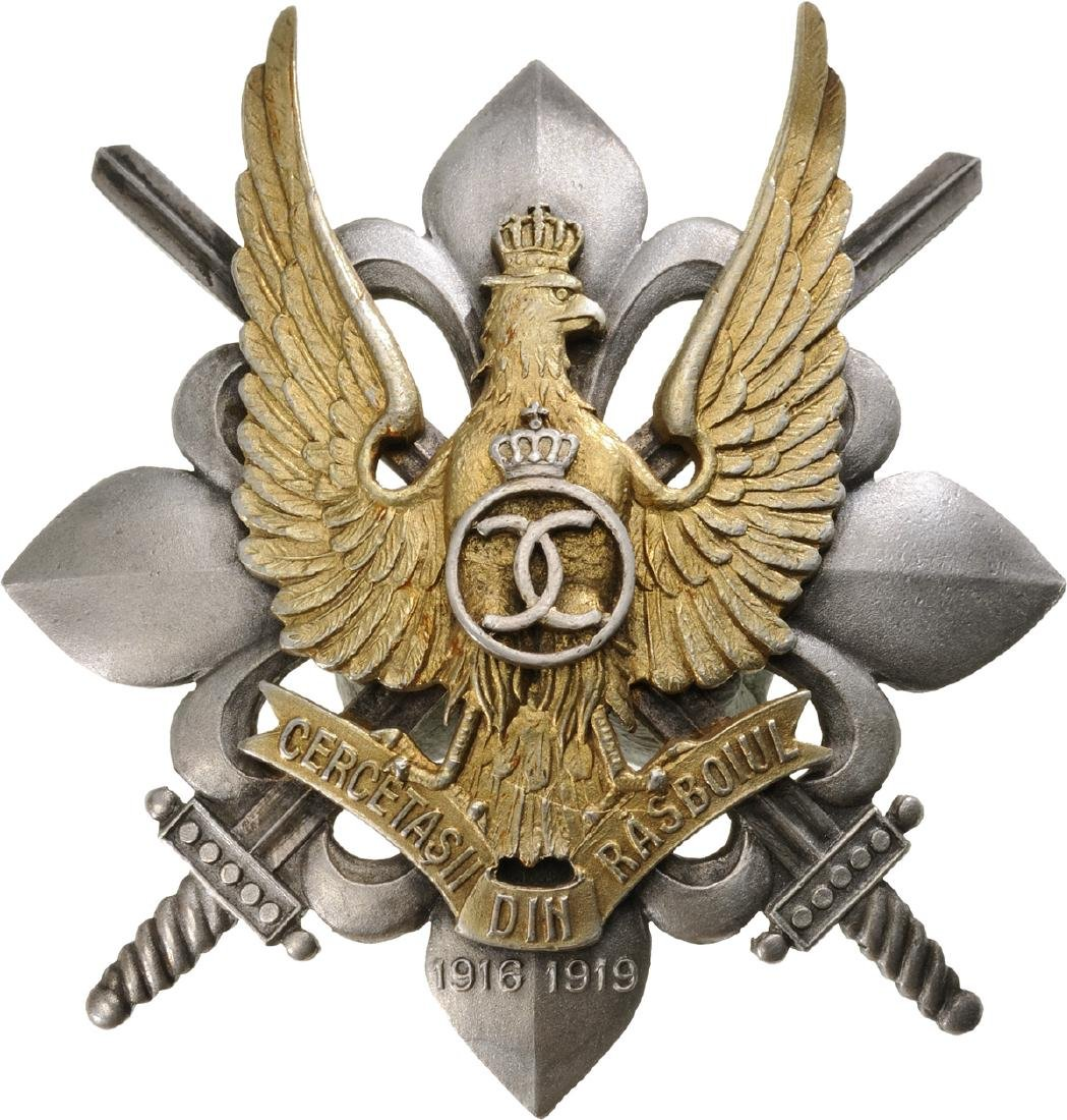 WAR BADGE OF THE SCOUTS, 1935 MODEL
